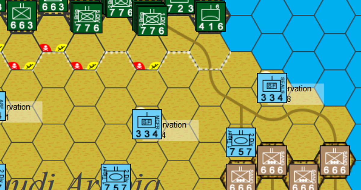 Battle of Khafji - South Arabia, Middle East, 1991