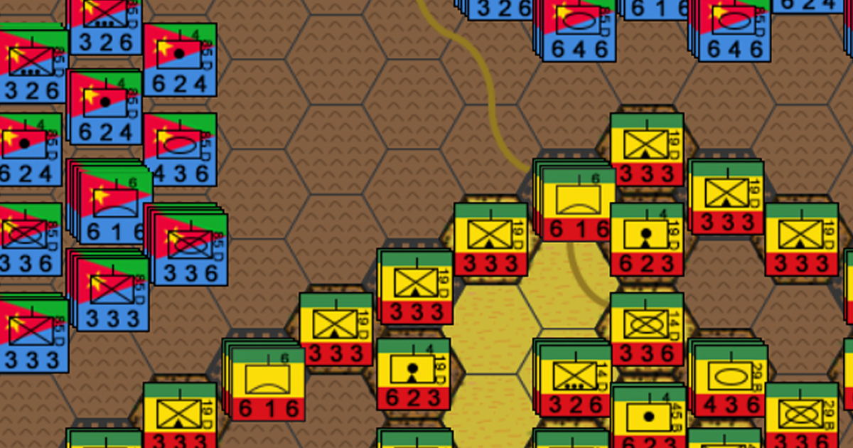Battle of Afabet - Ertirea, Africa, 1988