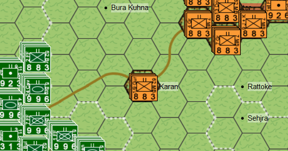 Battle of Asal Uttar - India, Asia, 1965