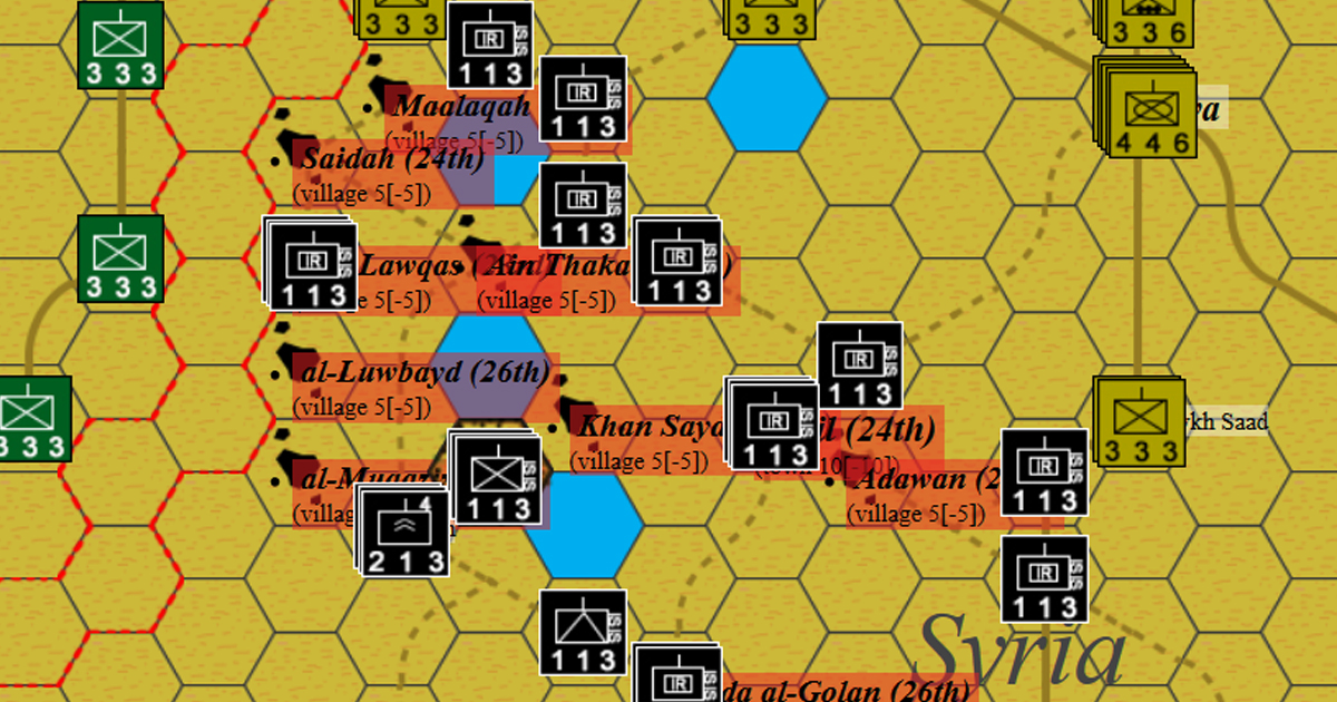 Um Lawqas - 2018 (Syrian Civil War) - Hex and Counter Wargames