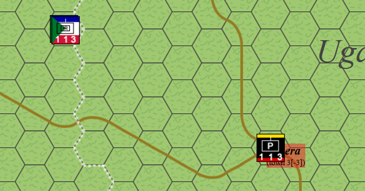 Bwera and Mpondwe Lhubiriha - 1996 (Allied Democratic Forces Insurgency) - Hex and Counter Wargames
