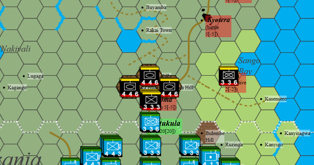 Mbarara and Masaka Offensives - Uganda, Africa, 1979