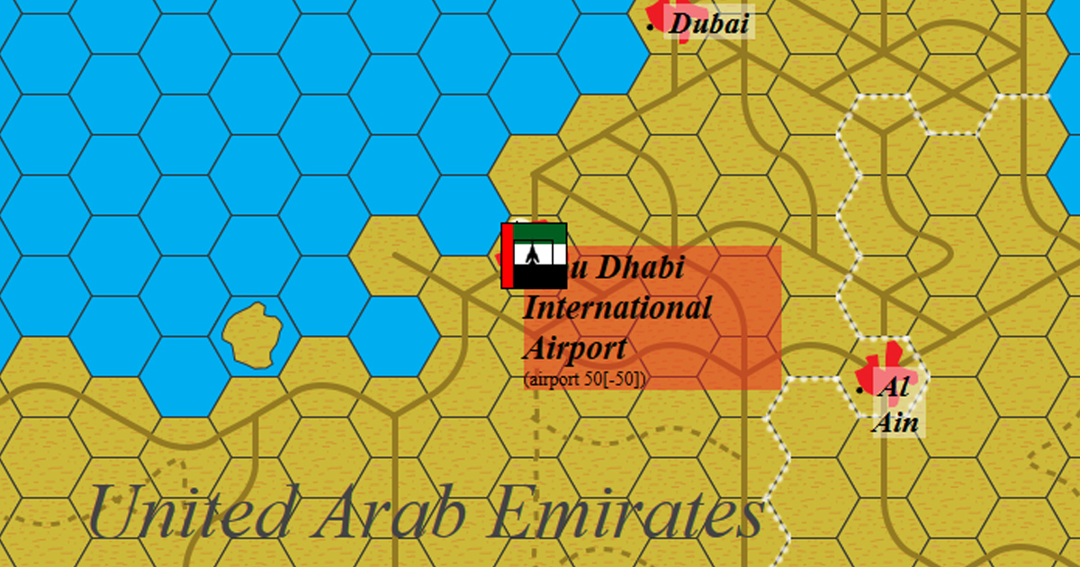 Abu Dhabi International Airport  - United Arab Emirates, Middle East, 2018