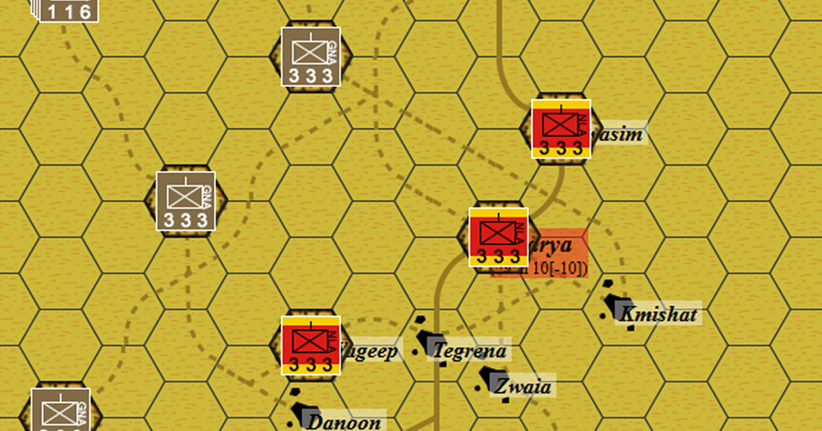 Battle For Gharya - Libya, Africa, 2019