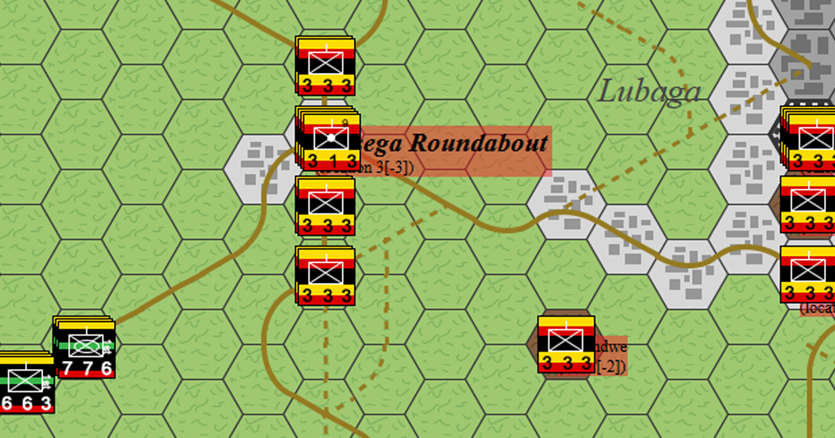 Battle of Kampala - Uganda, Africa, 1986