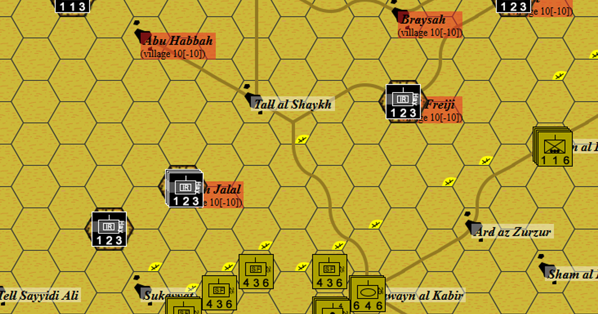 Advance On Umm Jalal - Syria, Middle East, 2019