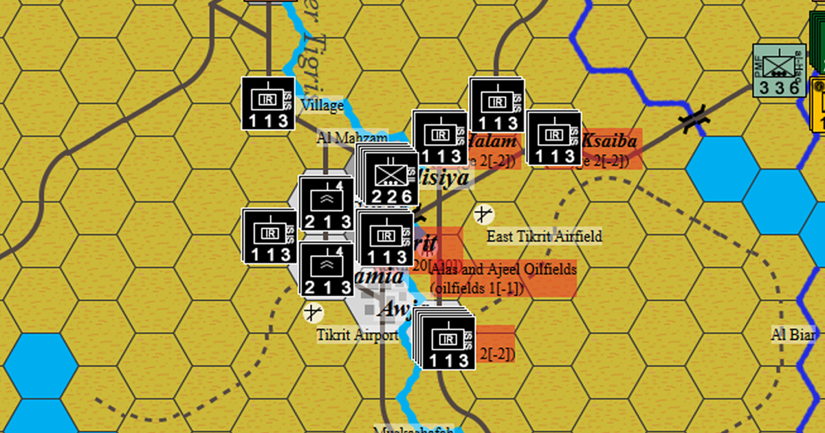 Second Battle of Tikrit - Iraq, Middle East, 2015