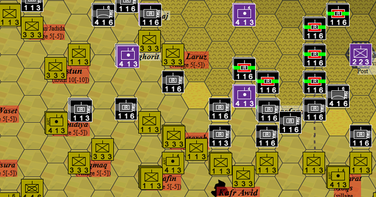 Counter Attack Across Al Ghab Plains - Syria, Middle East, 2020