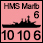 Coalition Forces - British HMS Marlborough - Naval (10-10-6)