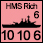 Coalition Forces - British HMS Richmond - Naval (10-10-6)