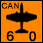 SADF - SAAF Canberras Bombers - Air (6-0-1)