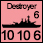 United Kingdom - UK Destroyer - Naval (10-10-6)