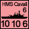 United Kingdom - UK HMS Cavalier - Naval (10-10-6)