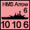 United Kingdom - UK-HMS-Arrow-Falk - Naval (10-10-6)