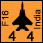 India - India 11 Sq F 16AM - Air (4-4-30)